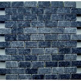 ALIAGA  PIERRE BLEUE ADOUCI FONCE  2,3/4,8/1 cm