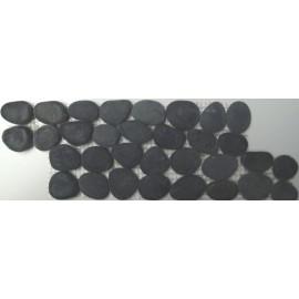 FRISE GALETS RONDS BLACK  10/28